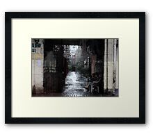 Beijing Alley Framed Print