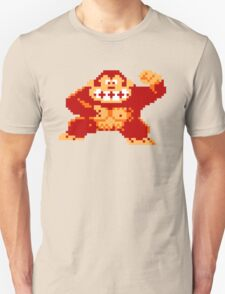 8-Bit Nintendo Donkey Kong Gorilla Unisex T-Shirt