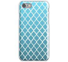 Moroccan Pattern - Blue & White iPhone Case/Skin