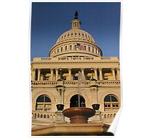 The Capital Building Shines Poster