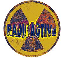 Radioactive Photographic Print