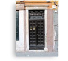 Doors of Europe-Venice Canvas Print