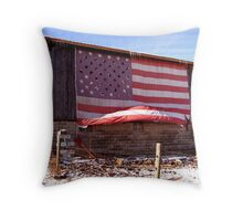 With Liberty and Justice for All Throw Pillow