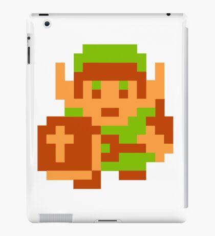 8-Bit Legend Of Zelda Link Nintendo iPad Case/Skin