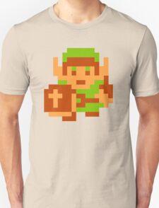 8-Bit Legend Of Zelda Link Nintendo Unisex T-Shirt