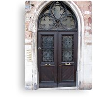 Doors of Europe-Venice 1 Canvas Print