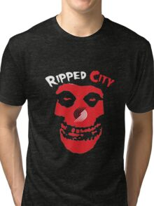 crimson city Tri-blend T-Shirt