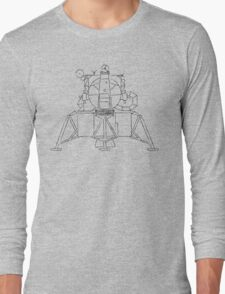 Lunar module sketch Long Sleeve T-Shirt