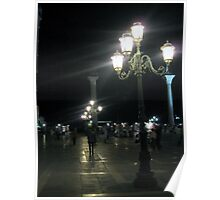 Evening at Piazza San Marco 5 Poster