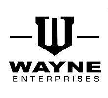 Wayne Enterprises-Black Photographic Print