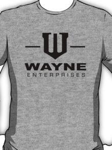 Wayne Enterprises-Black T-Shirt