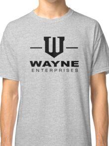 Wayne Enterprises-Black Classic T-Shirt