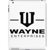 Wayne Enterprises-Black iPad Case/Skin