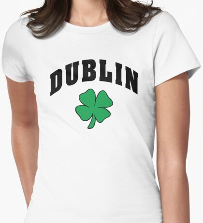 Irish Dublin Womens Fitted T-Shirt
