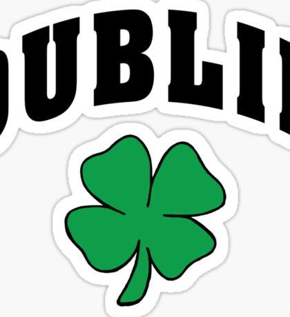 Irish Dublin Sticker