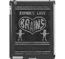 Zombie knitwear iPad Case/Skin