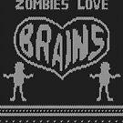 Zombie knitwear by puppaluppa