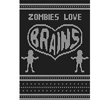 Zombie knitwear Photographic Print