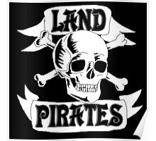 Land Pirates Poster