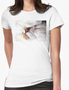 Fur Ball Womens Fitted T-Shirt