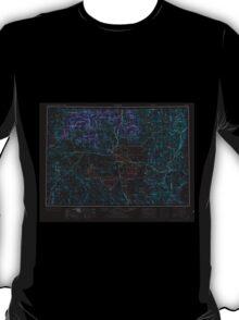 USGS Topo Map Oregon Burns 283306 1955 250000 Inverted T-Shirt