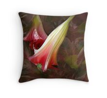 A Really Big Bloom Throw Pillow