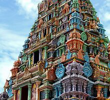 Sri Siva Subramaniya Temple  Nadi, Fiji by robblackwood