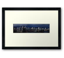Vancouver at Twilight Framed Print