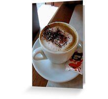 Venice Coffee Greeting Card