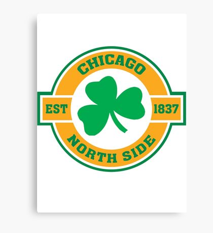 Chicago Northside Irish Canvas Print