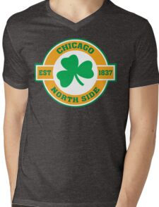 Chicago Northside Irish Mens V-Neck T-Shirt