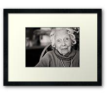 Granny Mac Framed Print