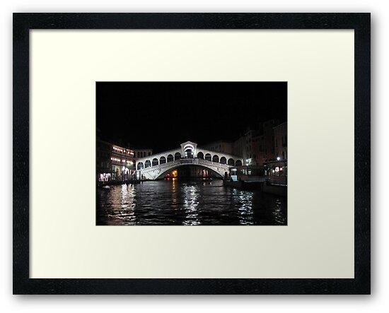 Rialto Bridge - Venice by Darrell-photos