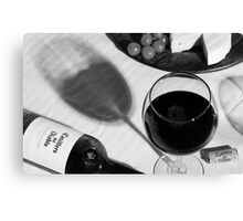 Wine Still Life Canvas Print