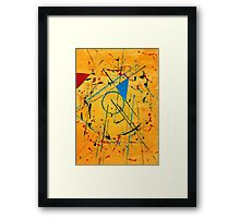 construction no. 2 Framed Print