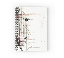 construction no. 1 Spiral Notebook