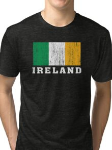 Ireland Flag Tri-blend T-Shirt