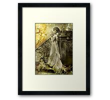 If Only They Really Knew Me (Art & Poetry) Framed Print