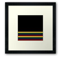 Hogwarts Pride Colours Simplistic Framed Print