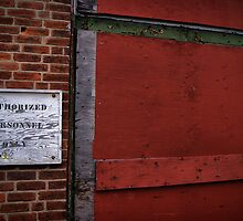 Authorized Personnel Only by SweetDecay