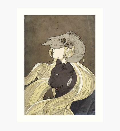Dreamcatcher- looking ahead Art Print