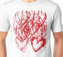 repetive heart Unisex T-Shirt