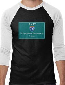 Schuylkillme Expressway Men's Baseball ¾ T-Shirt