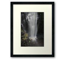 Apsley Falls base. Framed Print