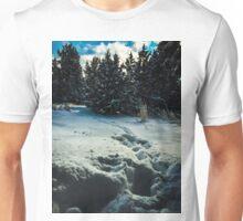A  disturbance In The Snow  Unisex T-Shirt
