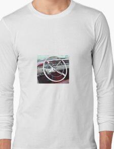 1957 Oldsmobile Dash Long Sleeve T-Shirt