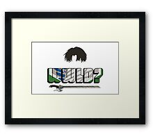 What would Levi do? Framed Print