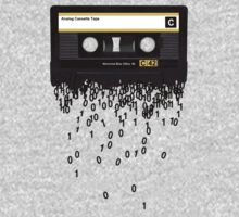 The death of the cassette tape. Kids Tee
