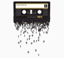 The death of the cassette tape. Baby Tee