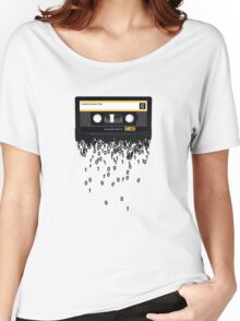 The death of the cassette tape. Women's Relaxed Fit T-Shirt